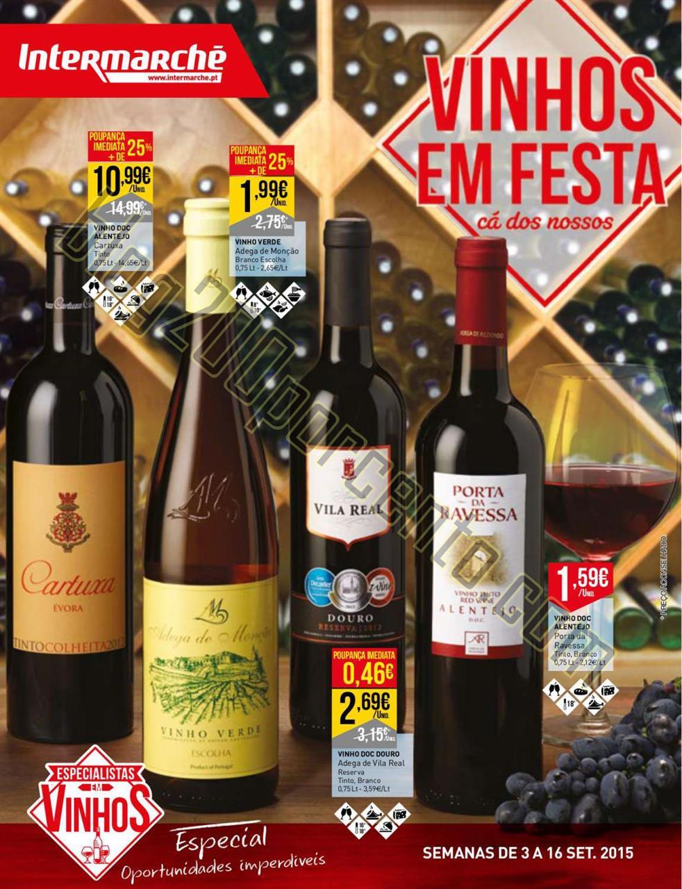 Antevisão Folheto INTERMARCHÉ Vinhos de 3 a 16 s