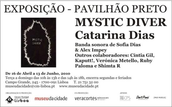 Exposição: Mystic Diver - Catarina Dias