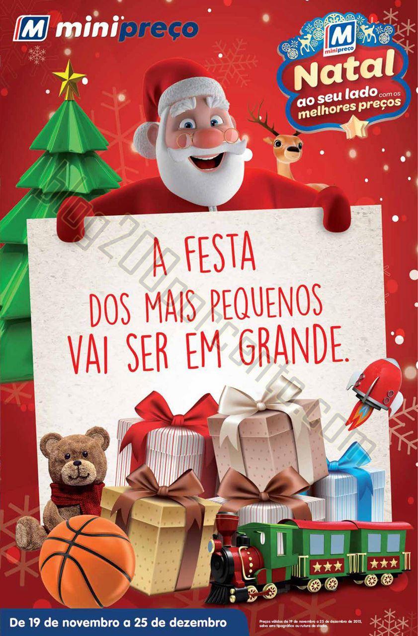 Antevisão Folheto MINIPREÇO Brinquedos Natal de