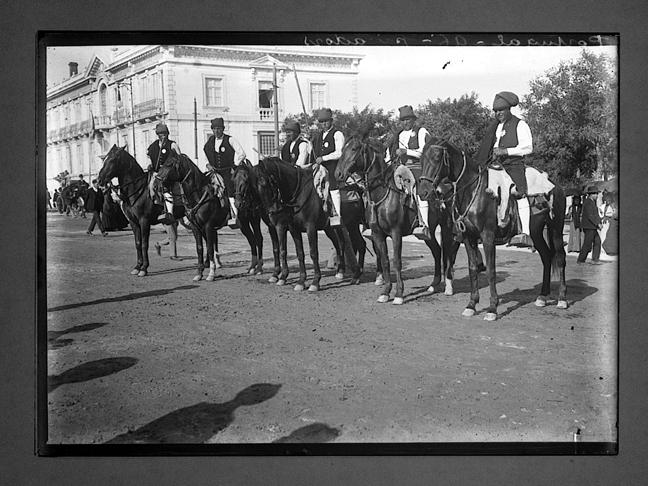 Campinos, Rotunda da Avenida (Ch.-Flaviens / G.E.H., 1900-1919)