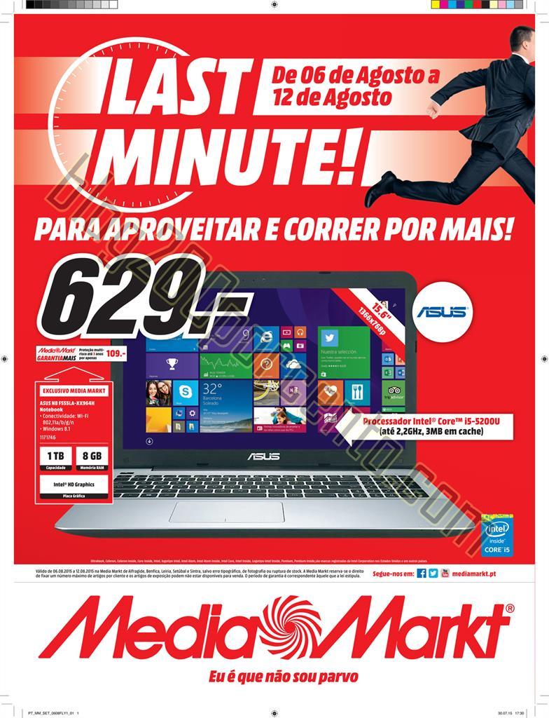 Antevisão Folheto MEDIA MARKT Centro de 6 a 12 ag