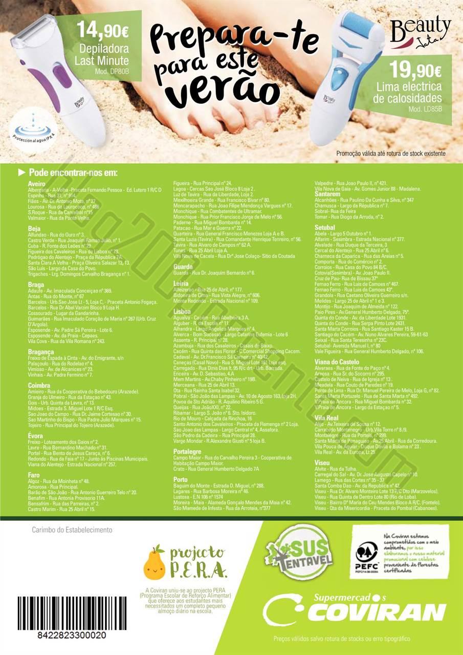 Antevisão Folheto COVIRAN Promoções de 28 julho