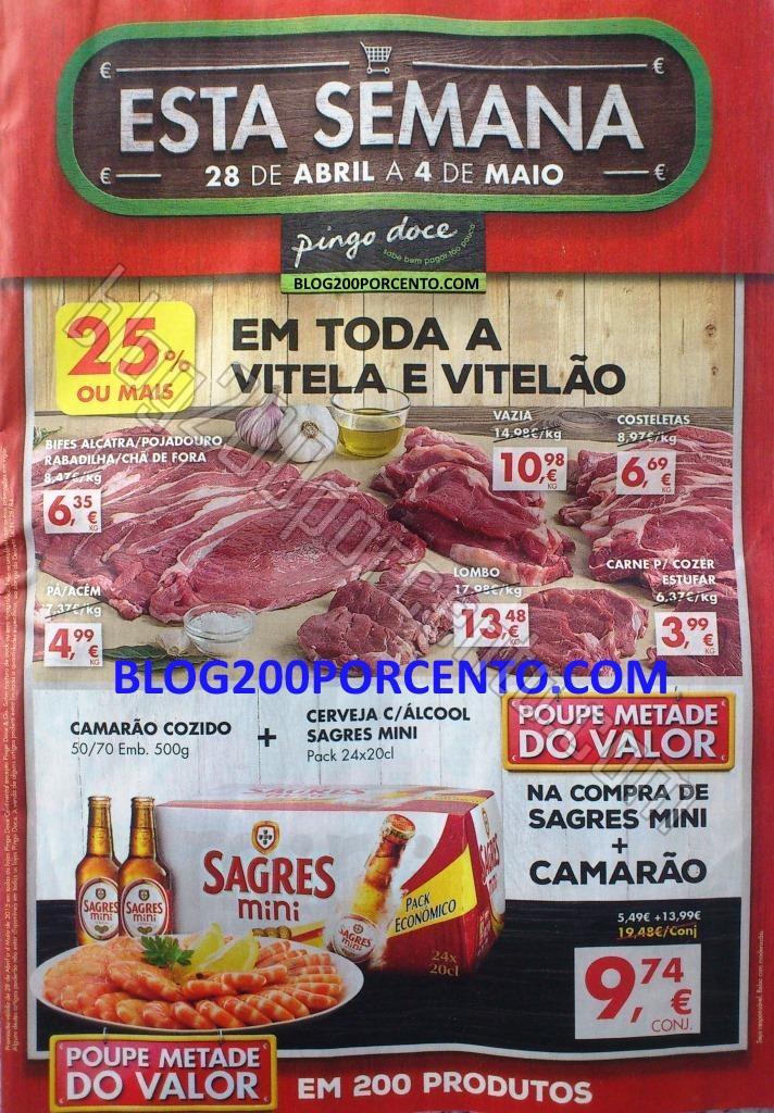 Antevisão Folheto PINGO DOCE Promoções de 28 ab