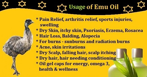 Emu oil (benefits) (14-10-15)