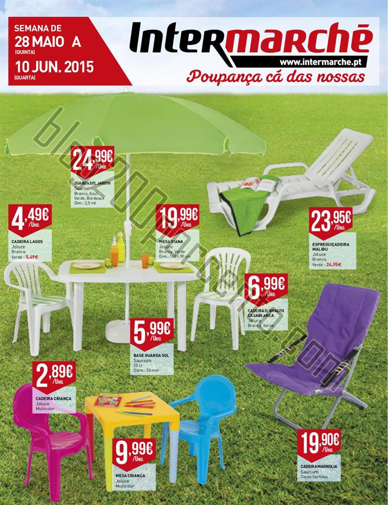 Antevisão Folheto INTERMARCHÉ Jardim de 28 maio