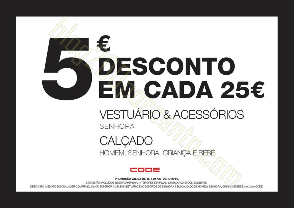 5€ de desconto em 25€ de compras PINGO DOCE at