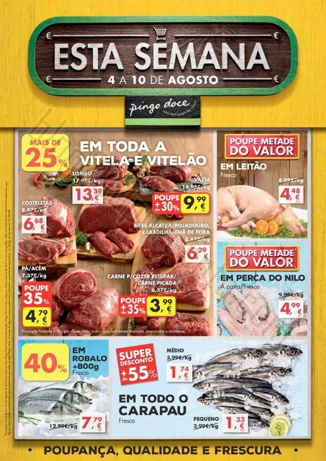 Antevisão Folheto PINGO DOCE Promoções de 4 a 1