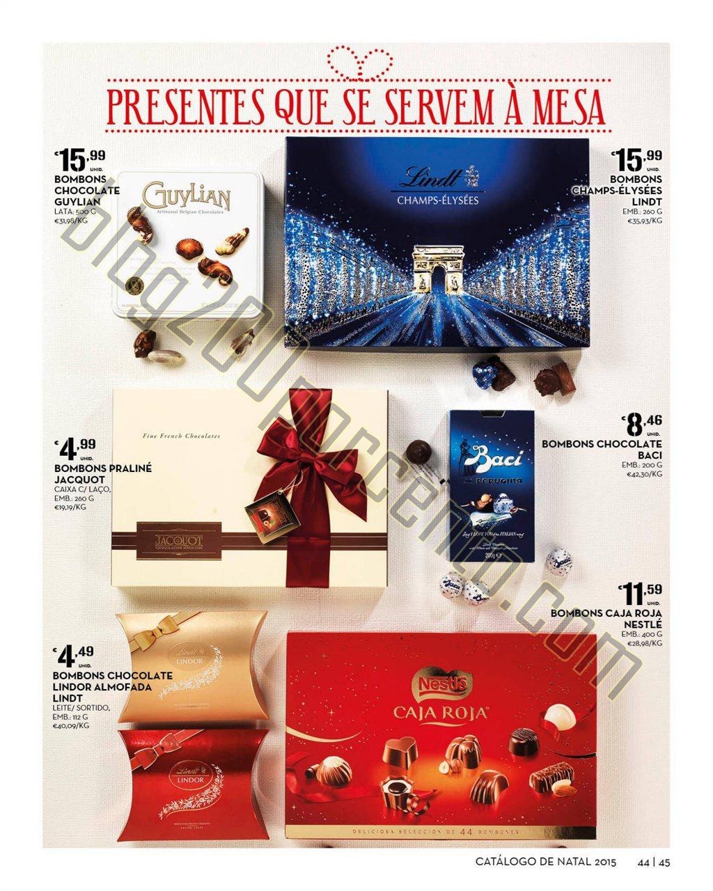 Antevisão Folheto CONTINENTE Natal de 3 novembro