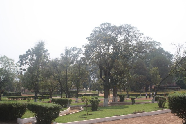 Jardim da Igreja de Nossa Senhora da Assunção. Waku Kungo. Kwansa Sul. Foto: Mayra Fernandes