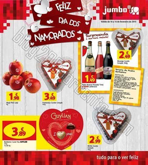 Antevisão Folheto JUMBO Especial Dia dos Namorado