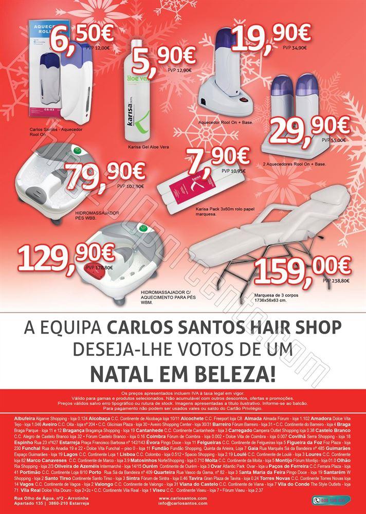 Novo Folheto CARLOS SANTOS HS Natal de 1 a 31 deze