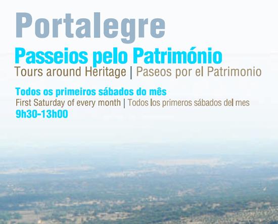 Portalegre, Passeios pelo Património