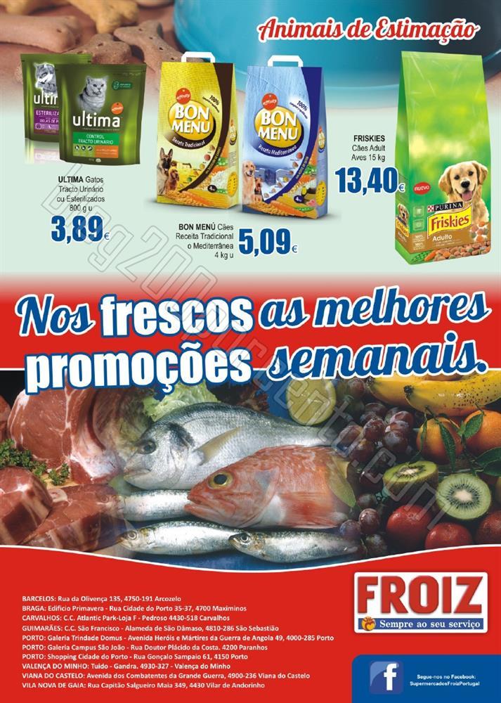 Novo Folheto FROIZ Promoções até 23 novembro p8