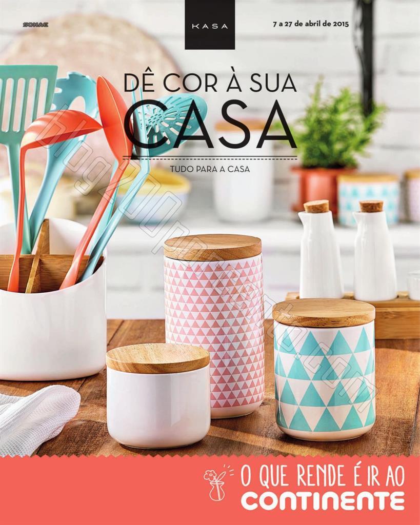 Antevisão Folheto CONTINENTE Casa de 7 a 27 abril