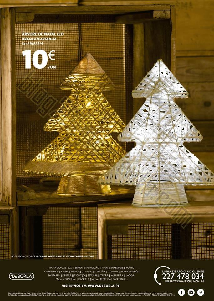 Antevisão Folheto DEBORLA Natal de 6 novembro a 2