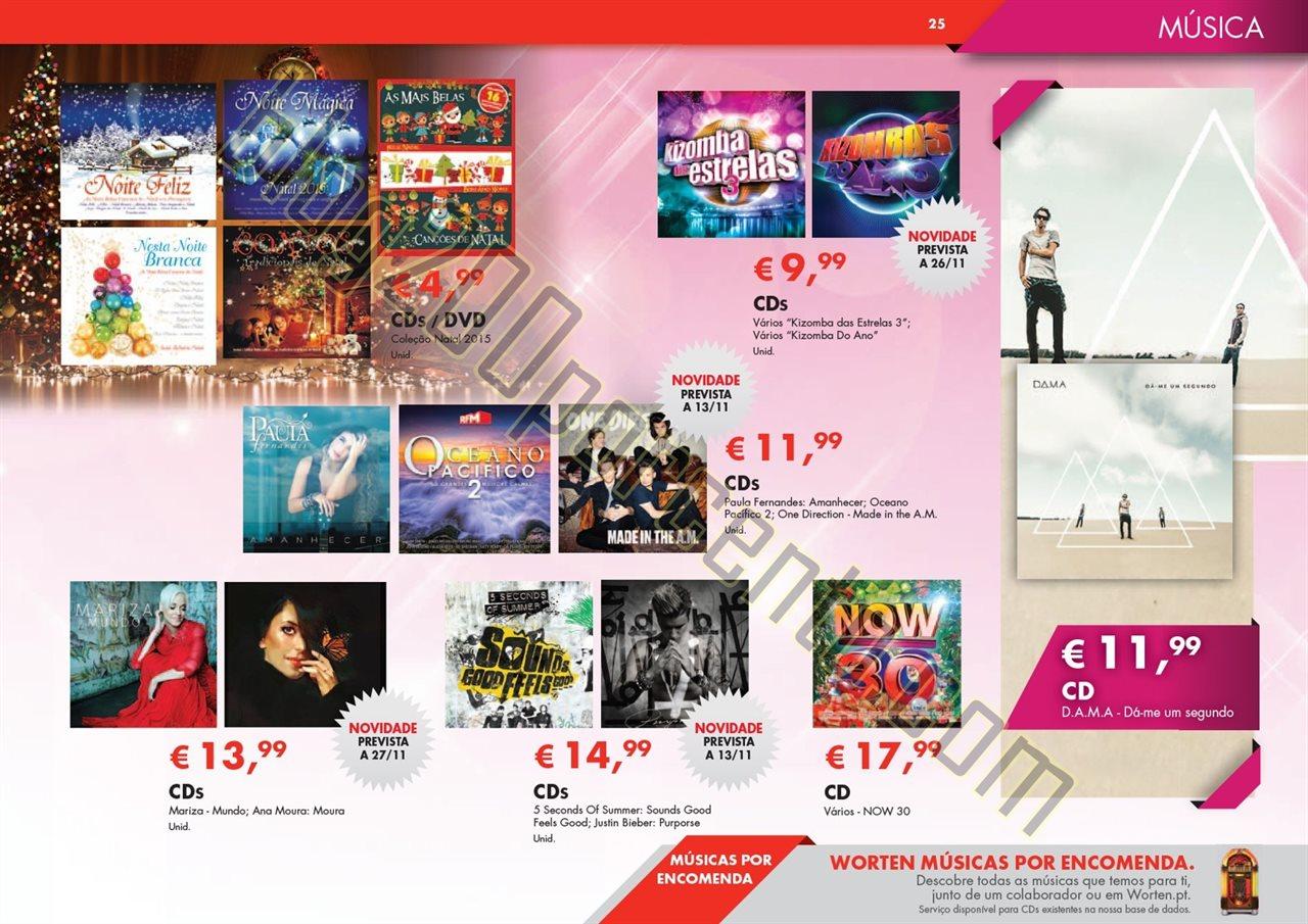 Novo Folheto WORTEN Entretenimento Natal de 13 nov