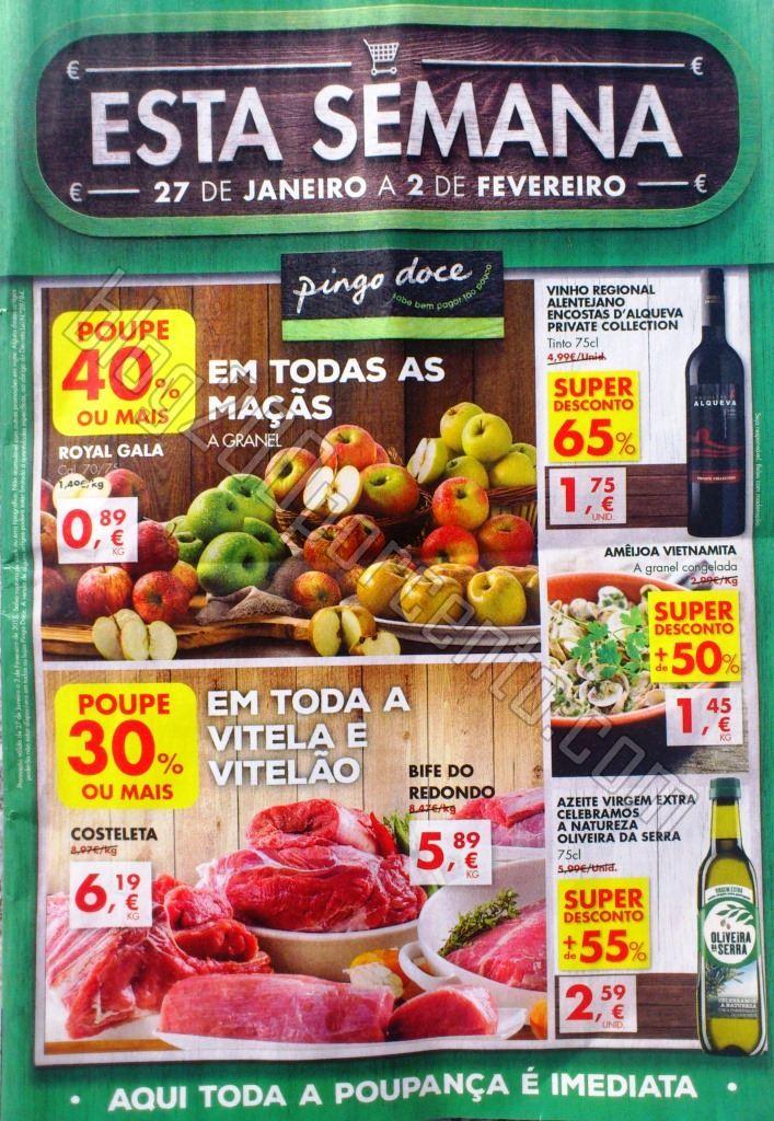 Antevisão Folheto PINGO DOCE Promoções de 27 ja
