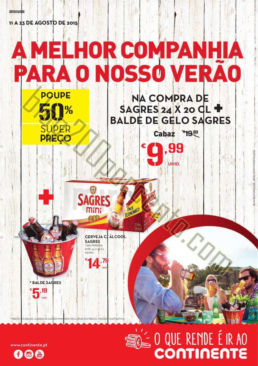 Antevisão Folheto CONTINENTE Bebidas de 11 a 23 a