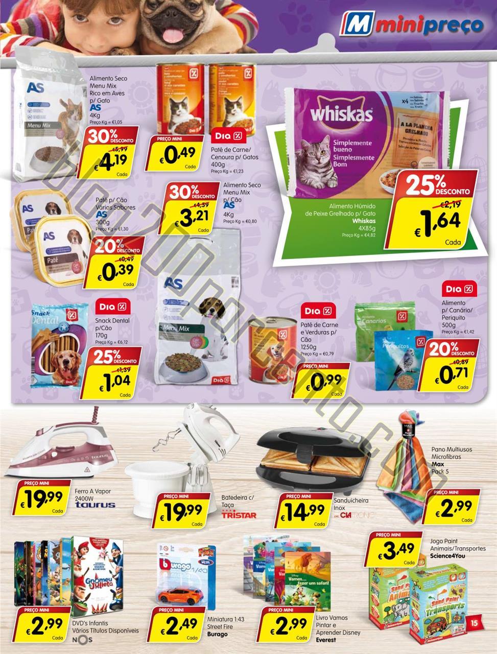 Antevisão Folheto MINIPREÇO Promoções de 3 a 9
