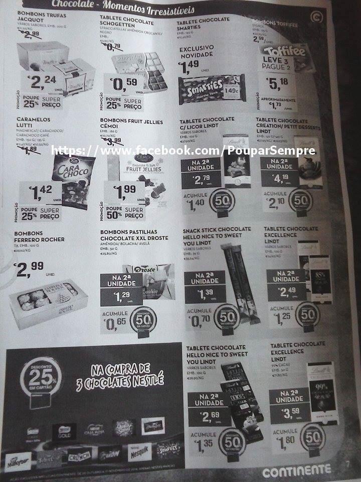 Antevisão Folheto CONTINENTE de 21 outubro a 9 no