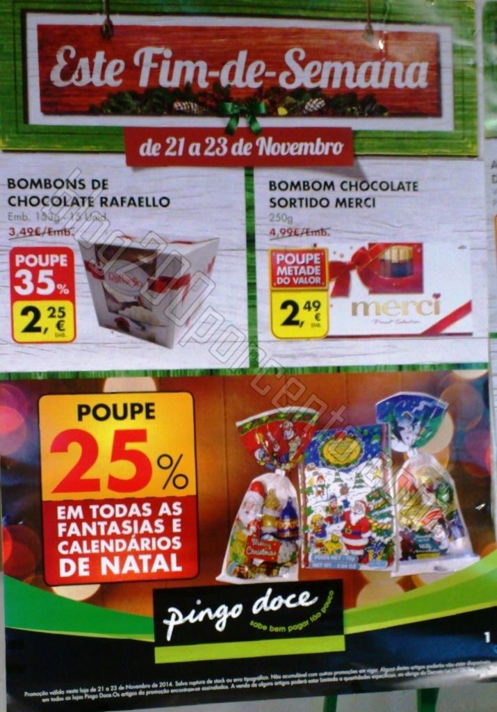 Novo Folheto Fim de semana PINGO DOCE de 21 a 23 n