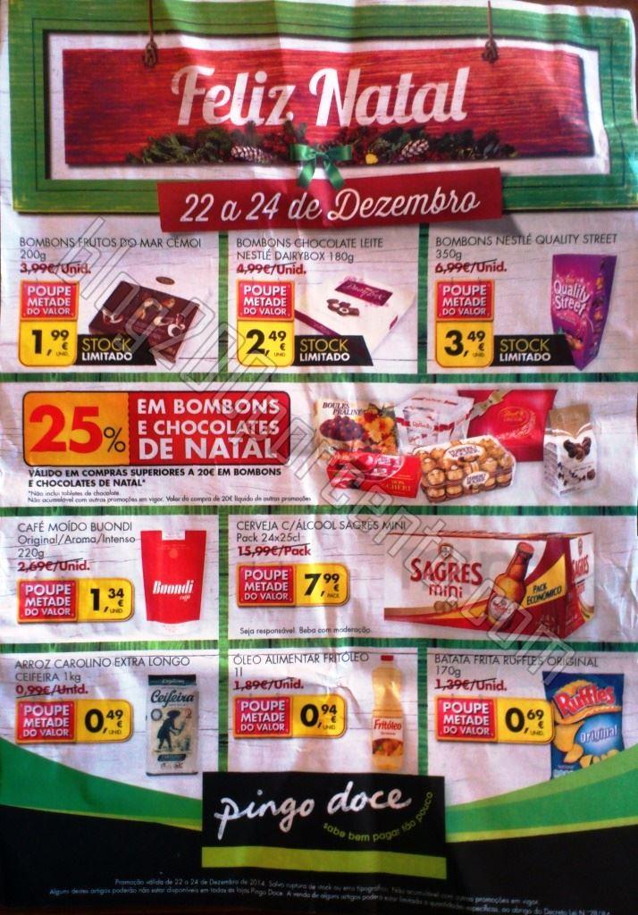 Antevisão Folheto PINGO DOCE Feliz Natal de 22 a