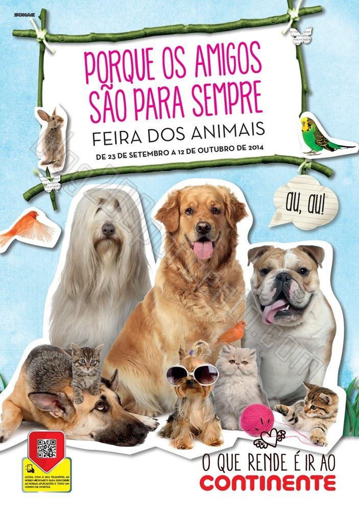 Novo Folheto CONTINENTE de 23 setembro a 12 outubro - Feira dos Animais