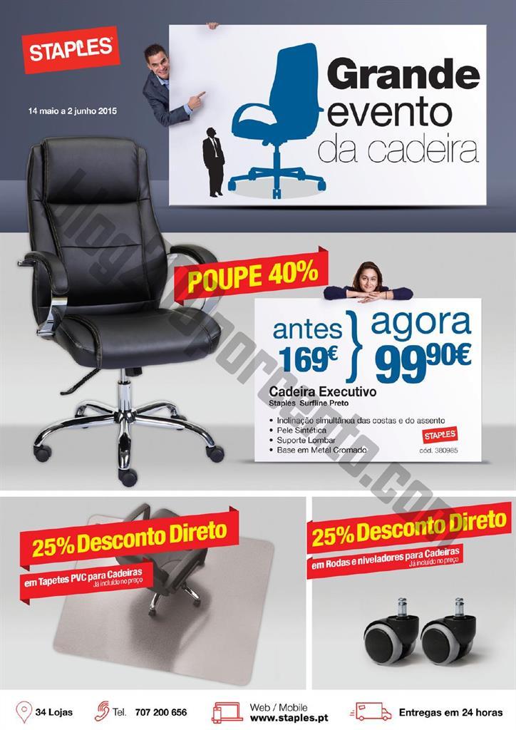 Antevisão Folheto STAPLES Promoções de 14 maio