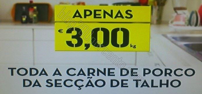 Premonição - CONTINENTE - 2ª e 3ª feira toda a carne de porco a 3€ / Kg