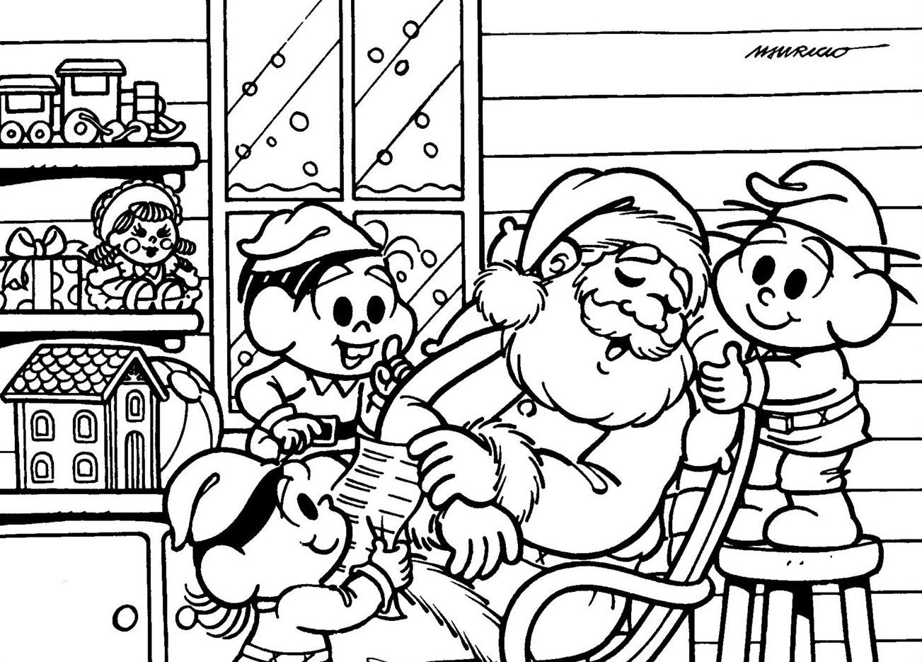 Natal Com A Turma Da Monica 5 Vem Pintar