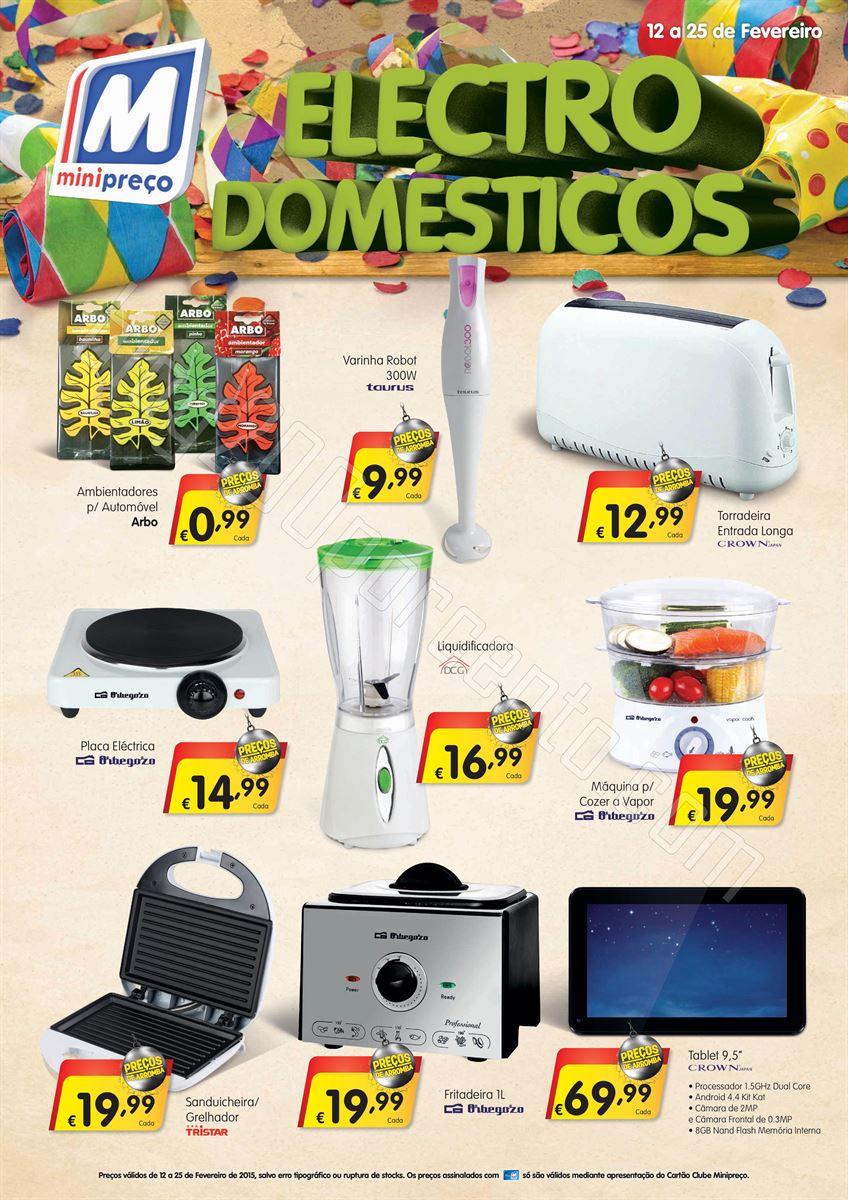 Antevisão Folheto MINIPREÇO Bazar de 12 a 25 fev