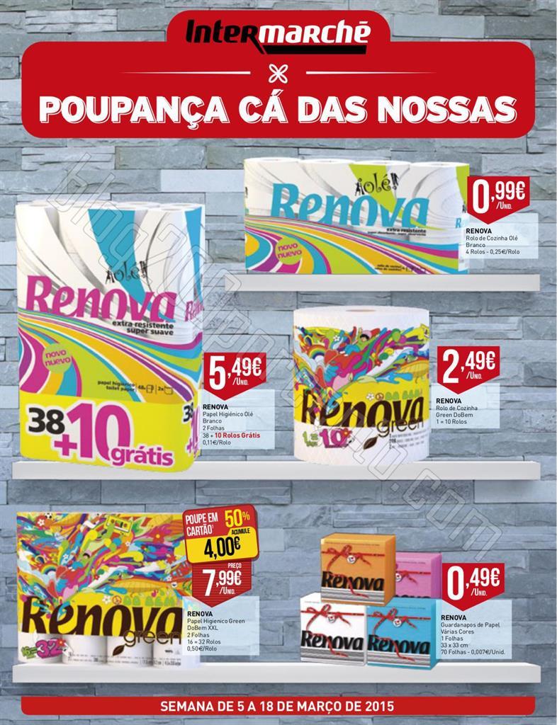 Antevisão Folheto INTERMARCHÉ Renova de 5 a 18 m
