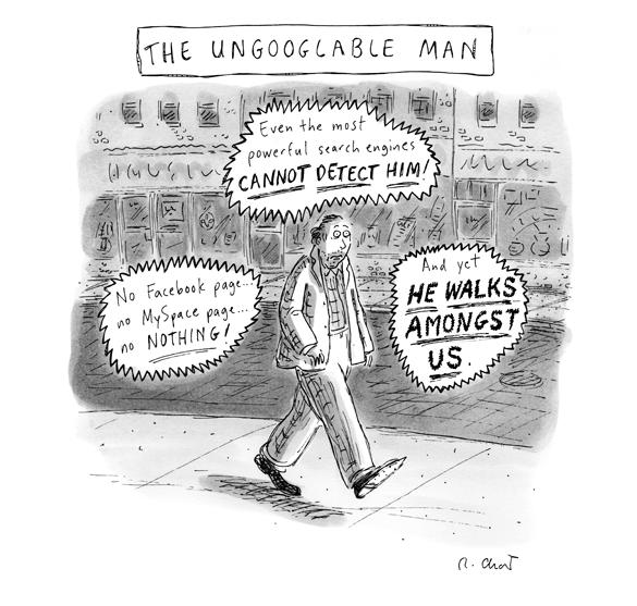 the ungoogable man