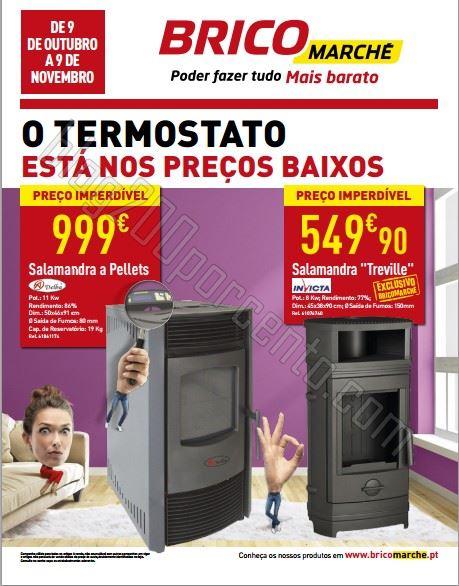 Novo folheto BRICOMARCHÉ de 9 outubro a 9 novembro