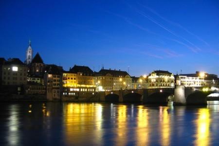 Manhã em Basileia, Suíça (por Nagy Albert)