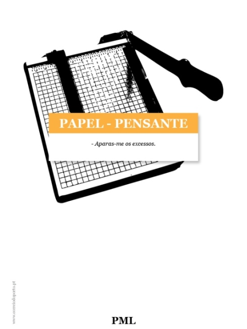 PAPEL-PENSANTE: Guilhotina por PML
