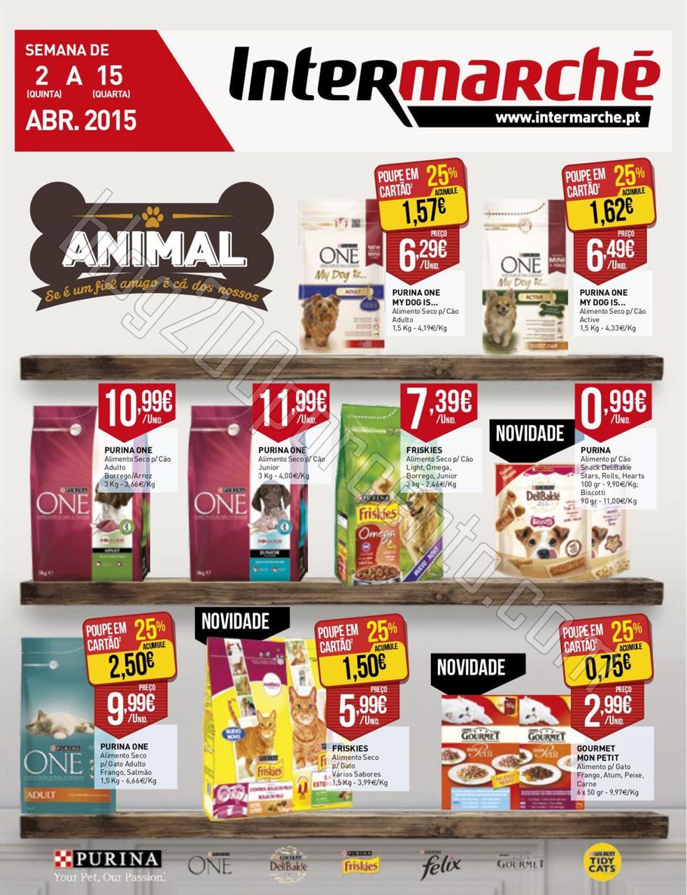 Antevisão Folheto INTERMARCHÉ Animal de 2 a 15 a