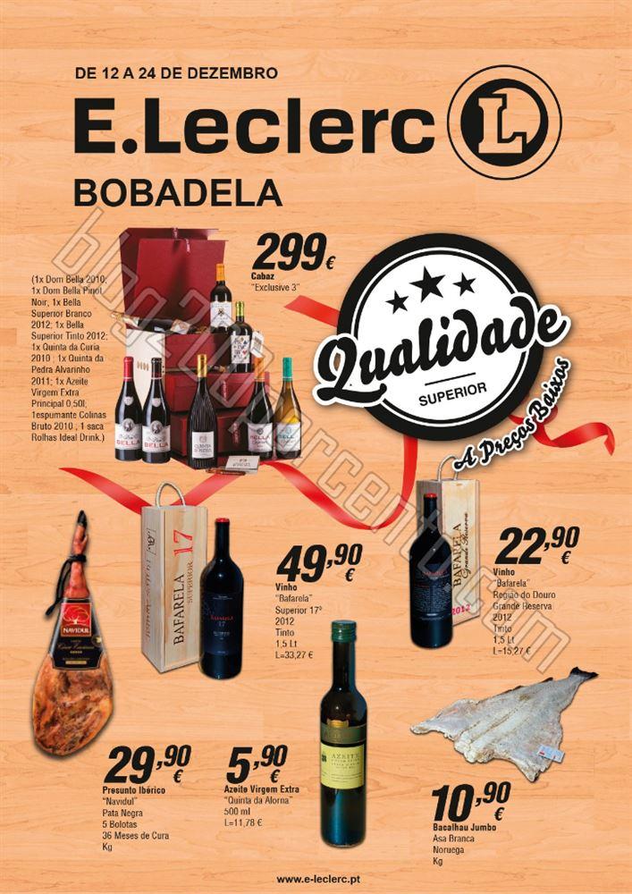 Antevisão Folheto E-LECLERC Bobadela de 12 a 24 d