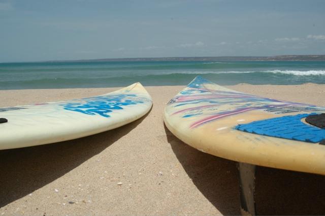 Praia dos surfistas