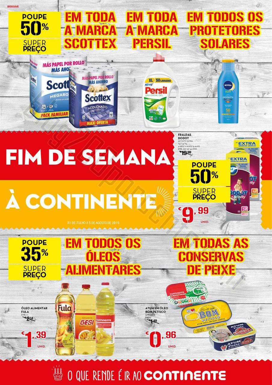 Antevisão Folheto Extra CONTINENTE Fim de semana