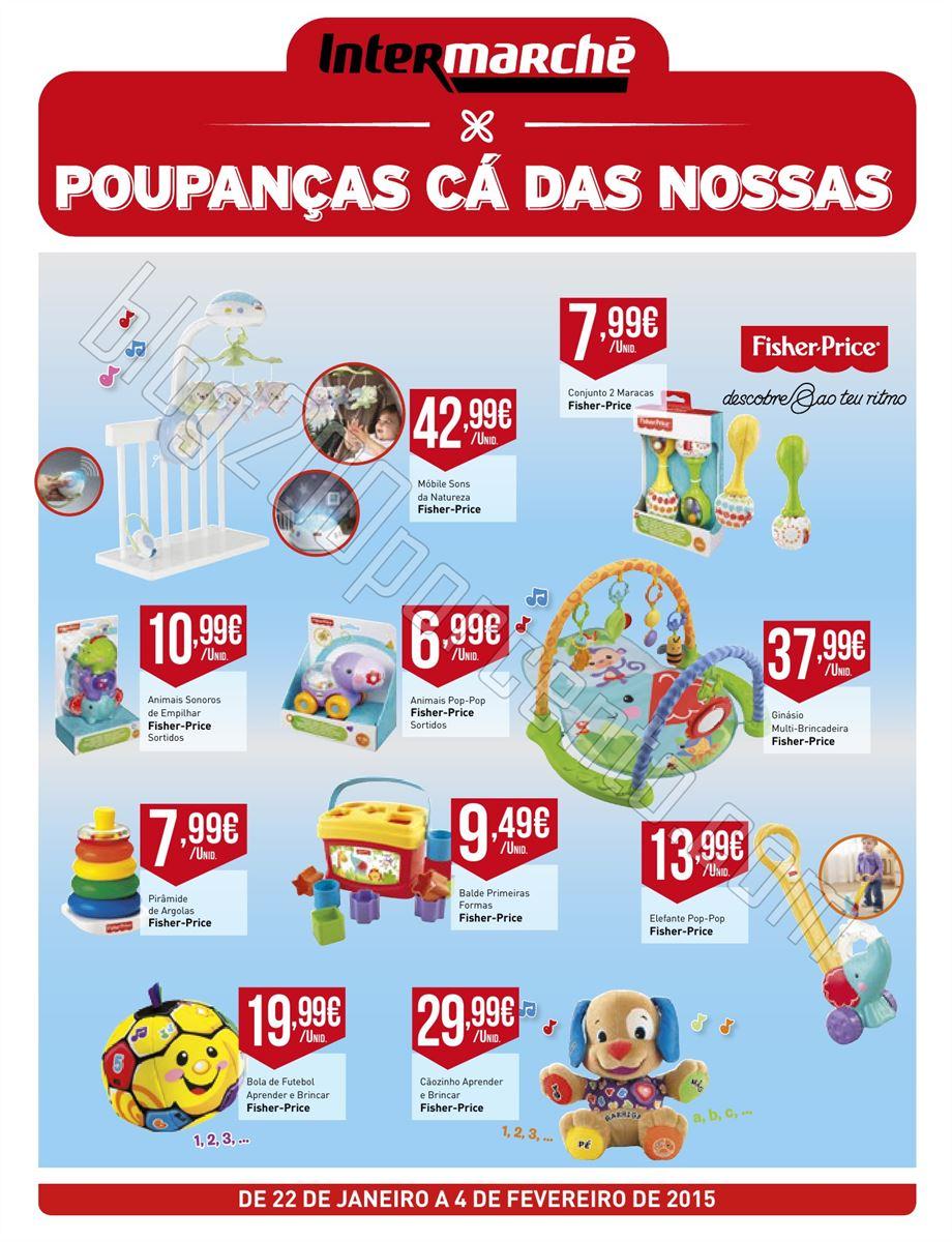 Antevisão Folheto INTERMARCHÉ Brinquedos Bebé d