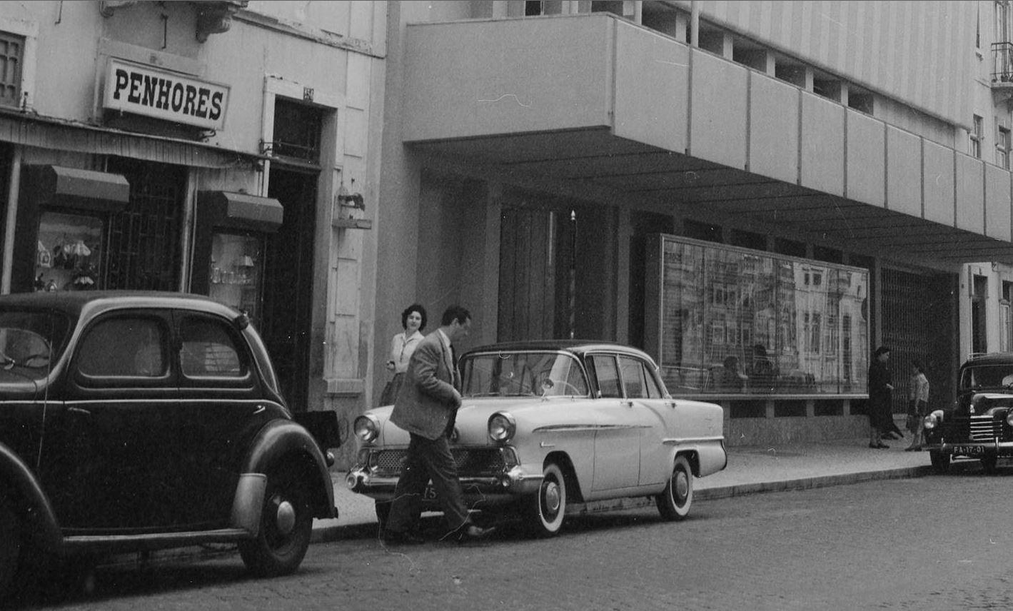 Rua Francisco Sanches, Lisboa (A Madureira, 1960).