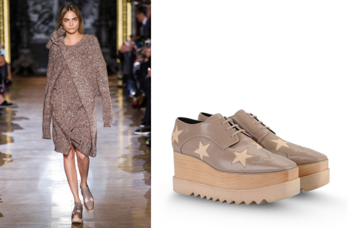 sXs Loves. Stella McCartney's Starry Elyse Shoes |