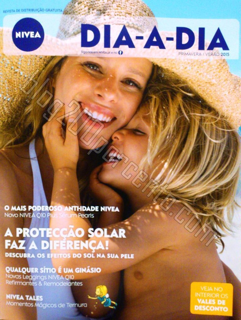 Nova Revista Dia-a-Dia NIVEA e seus vales de desco