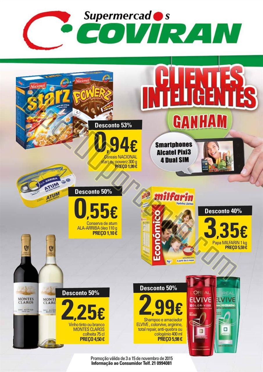 Antevisão Folheto COVIRAN Promoções de 3 a 15 n