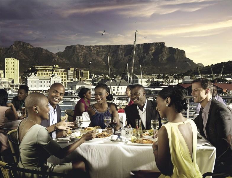 Jantar em Cape Town