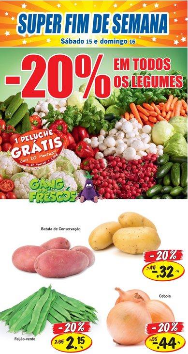 20% de desconto | LIDL | Legumes - Fim de semana