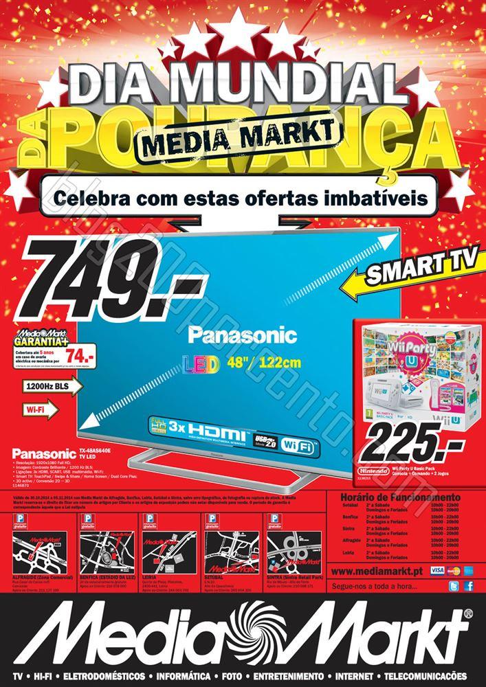 Antevisão Folheto MEDIA MARKT Centro de 30 outubr
