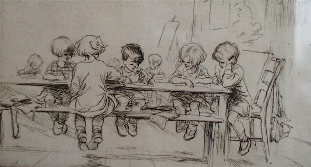 Na escola (E. Soper)