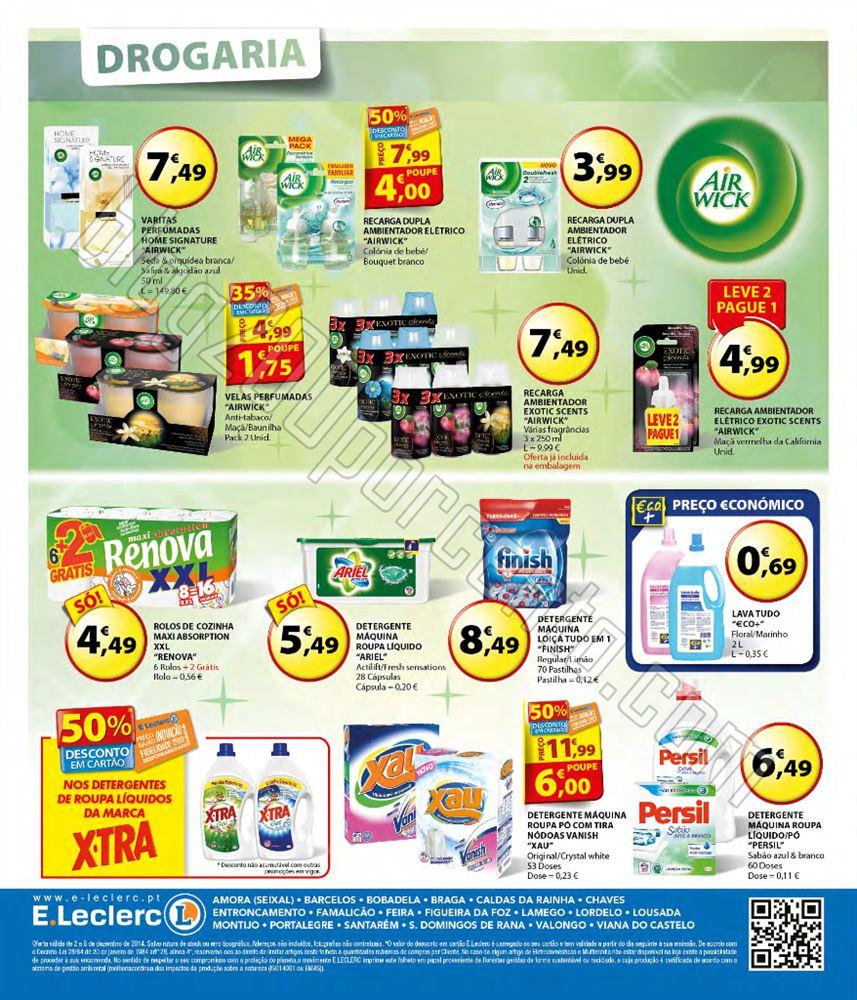 Antevisão Folheto E-LECLERC de 2 a 8 dezembro p12